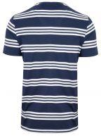 Navy & White Striped T-Shirt