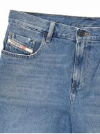 Blue D-Strukt Shorts