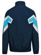 Blue Half Zip Track Jacket