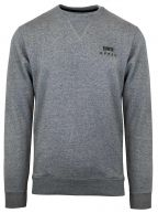 Grey Melange Base Crew Sweatshirt