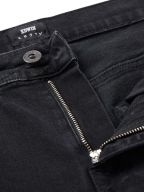 Black Mineral Wash ED-55 CS Power Black Denim Regular Tapered Jean