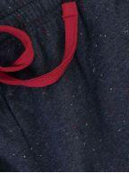Navy & Red Speckled Jersey Short
