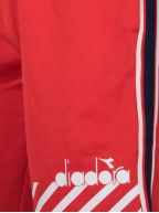 Red Polyester Shorts