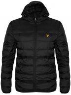 Black Lightweight Puffer Jacket
