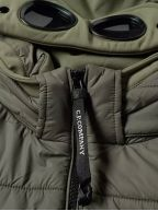 Sage Green Quilted Goggle Soft Shell Jacket