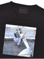 Black Anywhere T Shirt   Designed by Norman Parkinson