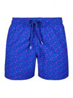 Sea Blue Micro Turtle Swim Shorts