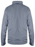 Sky Blue Garment Dyed Liquid Overshirt