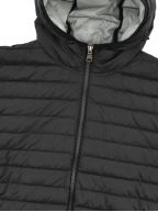 Black Hooded Down Jacket