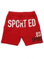 DSQUARED2 Kids Red Logo Short