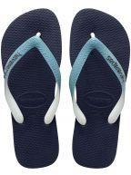 Navy & Mineral Blue Top Mix Flip Flops