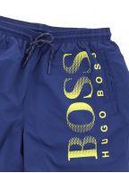 Navy Octopus Swim Shorts