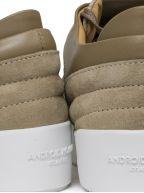 Beige Omega Low Sneaker