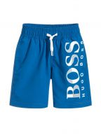 Royal Blue Logo Swim Shorts