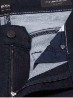 Charleston Dark Blue Knit Denim Jean