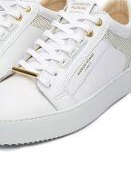 White Gold Venice Metallic Sneaker
