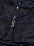 Black Ivvavik Lightweight Puffer Jacket