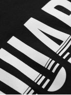 Black Slice Logo Print T-Shirt