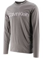 Grey Organic Cotton Long Sleeve T-Shirt