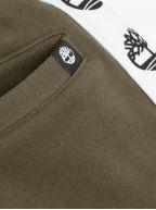 Khaki Logo Jog Pants