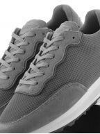 Grey Caledonian Mesh Reflect Sneaker