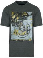 Dark Grey Graphic Logo T-Shirt
