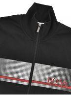 Black Authentic Zipped Sweatshirt