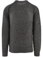 Black Shair Knitted Jumper