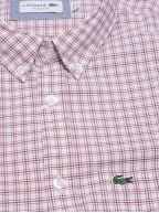 Regular Fitting Short-Sleeved Red Check Shirt