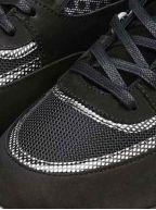Black & Silver Carbon Belter 2.0 Sneaker
