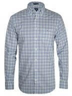 Spearmint Gingham Long-Sleeve Shirt