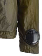 NyBer Khaki Lightweight Watch Viewer Lens Jacket