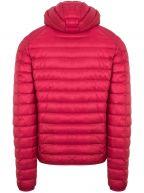 Red Nico Hooded Jacket