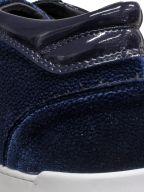 Dark Navy Stingray Propulsion Mid Sneaker