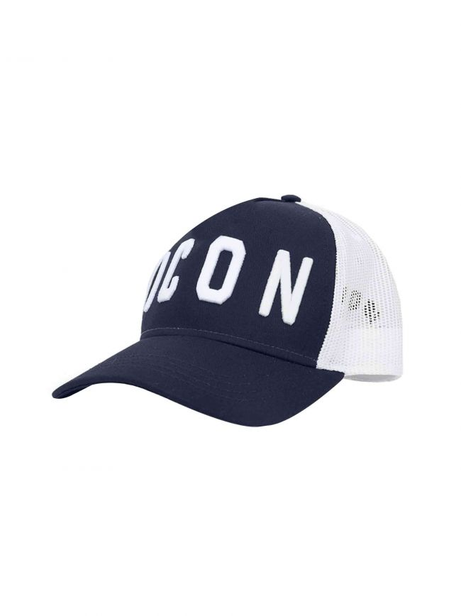 Navy & White ICON Trucker Cap
