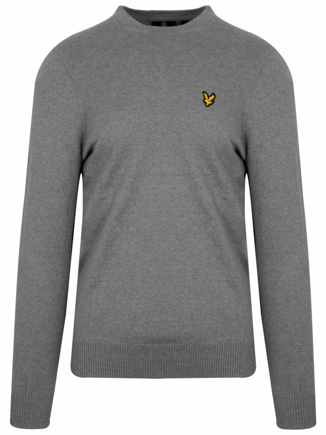 Grey Merino Sweatshirt