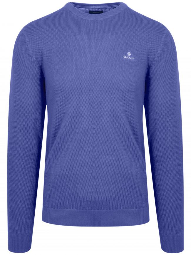 Royal Blue Honeycomb Sweatshirt