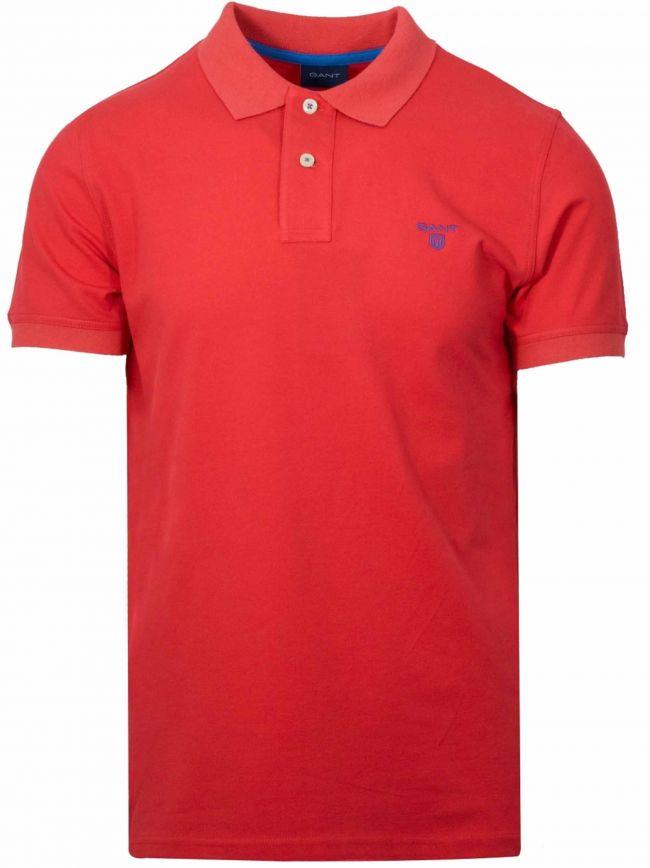 Blood Orange Polo Shirt