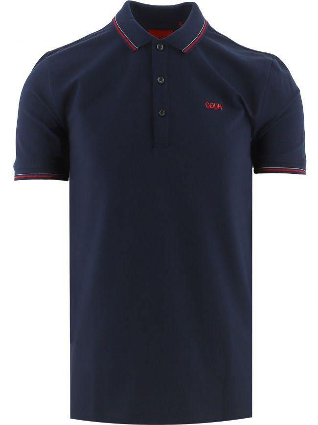 Navy Dinoso 212 Polo Shirt