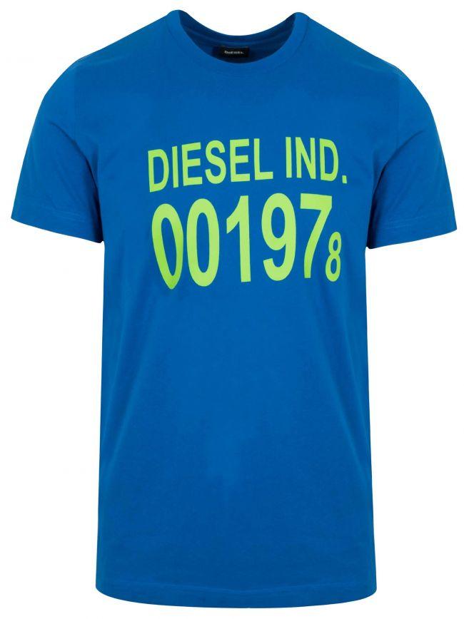 Blue T-Diego Logo T-Shirt