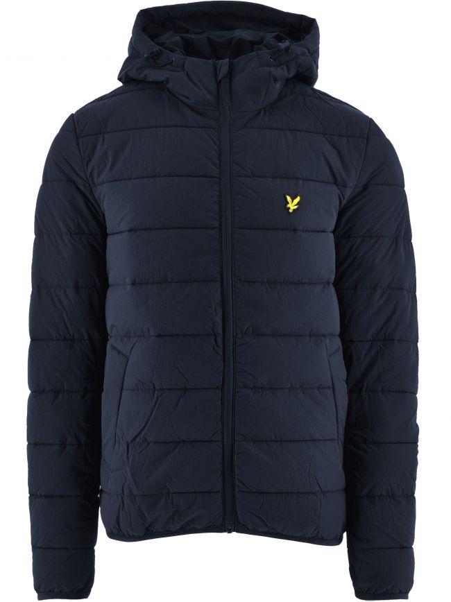 Dark Navy Lightweight Puffer Jacket