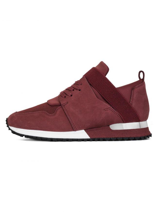 Burgandy BTLR Elast Sneaker