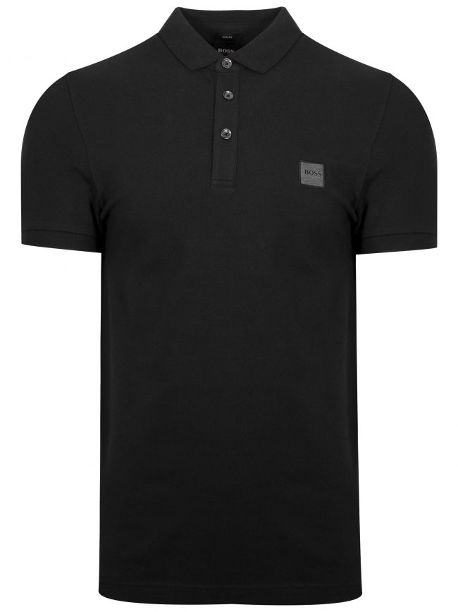 Black Passenger Polo Shirt