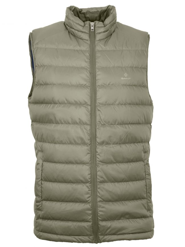 Four Leaf Green Lightweight Gilet