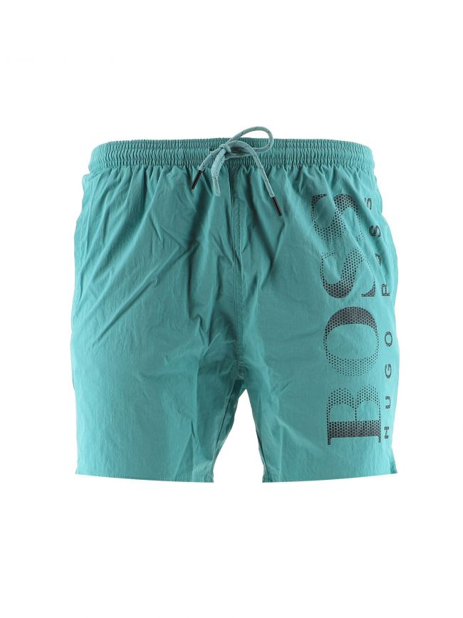 Green Octopus Swim Shorts