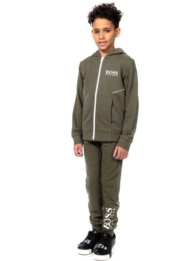 BOSS Kids Khaki Fleece Sweatshirt