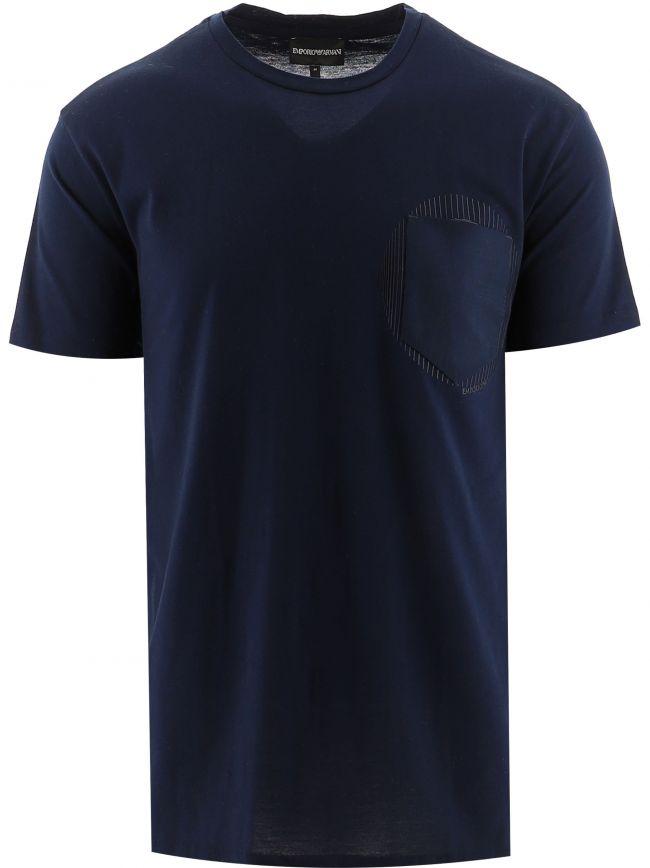 Navy Blue Pocket T-Shirt