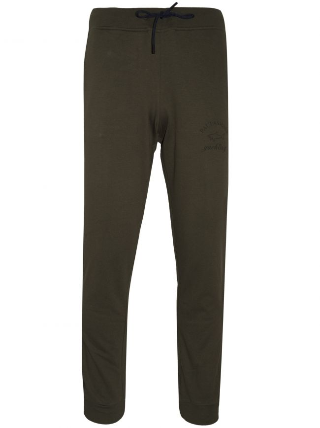 Khaki Tapered Jog Pant