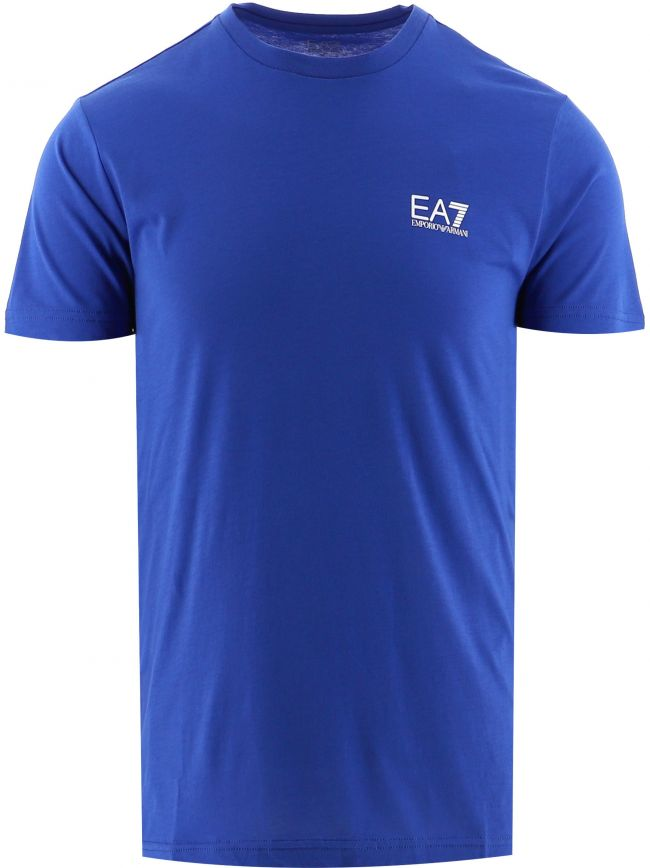 Blue Short Sleeve Logo T-Shirt
