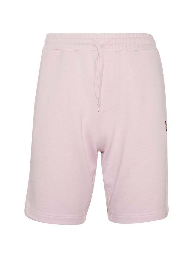 Dusky Lilac Jersey Cotton Shorts
